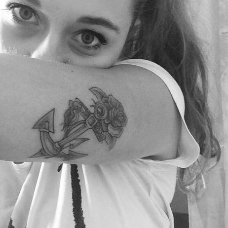 Third Tattoo ⚓ I Love It ❤ That's Me Happy