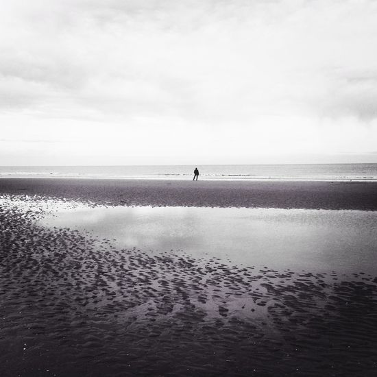 Taking Photos Northsea Beachphotography Cold Days Iphonephotography EyeEm Best Shots Belgium♡ Alone on the beach