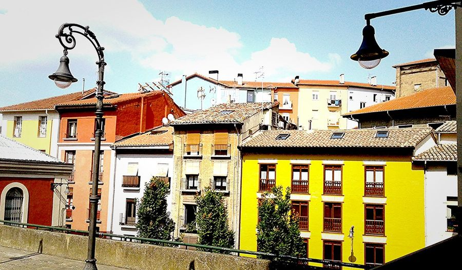 Pamplona Architecture Pamplona (Spain) Pamplona, Edificios Públicos, Navarra, Spain, Es Colors Colours Adventure SPAIN BasqueCountry Sanfermín Discover Your City Discovery Sky Building Exterior City Built Structure Travel Destinations No People Outdoors Cloud - Sky Day First Eyeem Photo