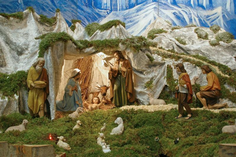 Nativity Scene Adoration Art Baby Bethlehem Birth Christmas Church Creche Croatia Faith Holy Jesus Joseph Kings Magi Nativity Scene Peace Religion Saint Shepherds Spiritual Spirituality Virgin Mary Wise Man