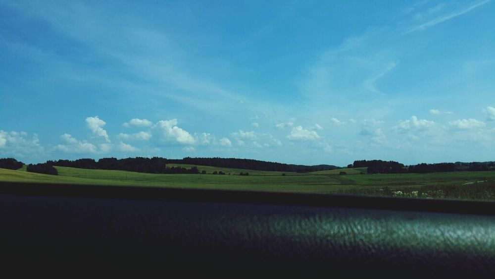 Nice! Car Nature Belarus Sky And Clouds