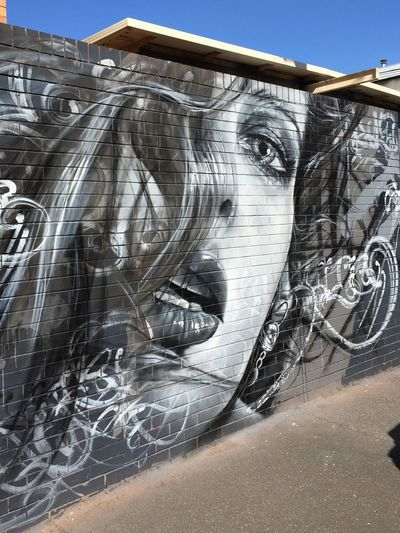 Photographic Approximation Chasing Art Around The Streets Stare Back At You... Streetart/graffiti