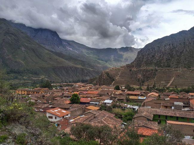 beautiful country Country City Andes Peru Inca Ollantaytambo - Peru