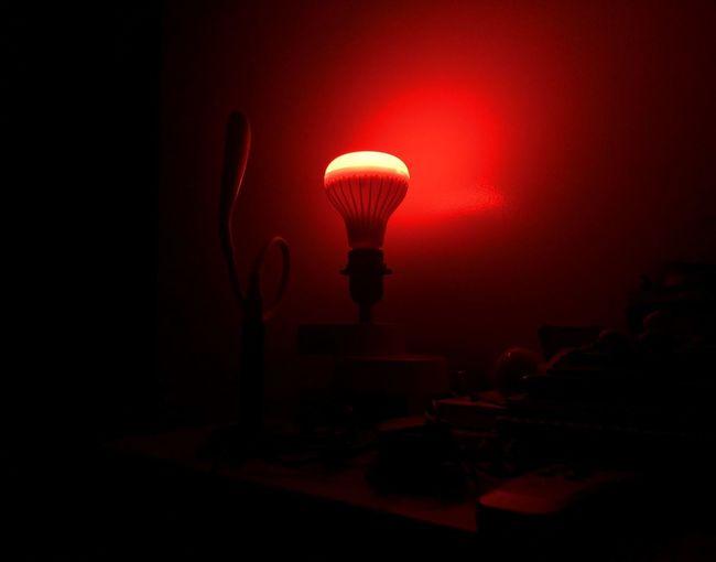 Illuminated Red