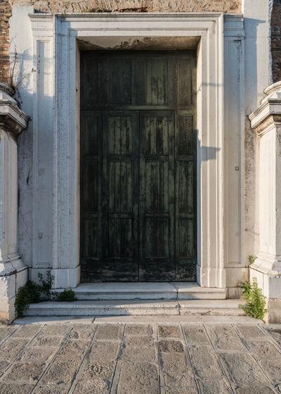 Architecture Building Exterior Built Structure Day Door Doorporn Doorway No People Outdoors Patina Ruin Venice Venice, Italy VSCO Vscogood
