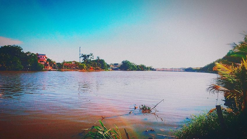 River Of Kedah At Alor Setar Malaysia Sony Xperia Z5 Beauty In Nature Riverside Nature_collection