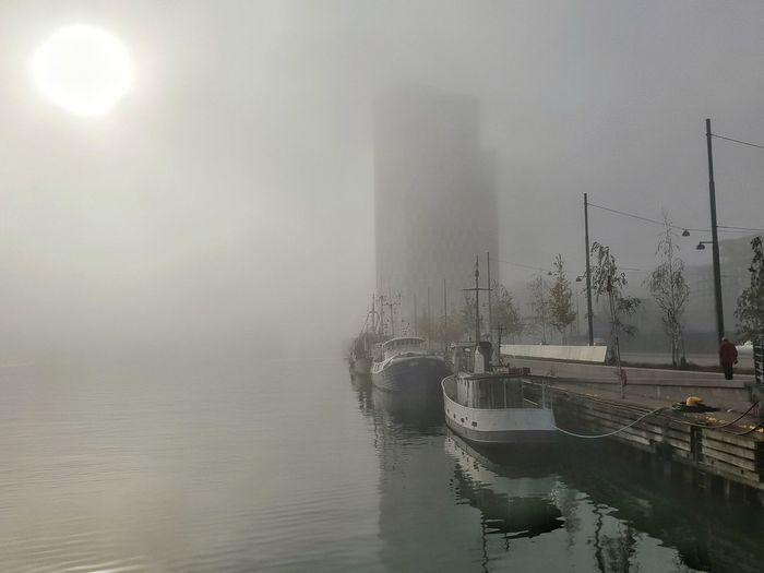 A foggy day in Jätkäsaari - Helsinki, Finland - 11 October 2018 . . . . . #autumn #helsinki #finland #suomi #nordic #baltic #myhelsinki #lifeinhelsinki #snapseed #october2018 #jätkäsaari #clarionhotel #clarionjätkäsaari #länsiterminaali #foggyharbour #foggy #october11 #fallfog #autumnfog #foggysun Autumn Helsinki Finland Suomi Nordic Baltic Myhelsinki Lifeinhelsinki Snapseed October2018 Jätkäsaari Clarionhotel Clarionjätkäsaari Länsiterminaali Foggyharbour October11 Foggy Fallfog AutumnFog Foggysun Water Cyclone Flood Irrigation Equipment Tornado Fog Torrential Rain Extreme Weather Social Issues Weather Smog Atmospheric Mood Dramatic Sky Air Pollution Rainy Season