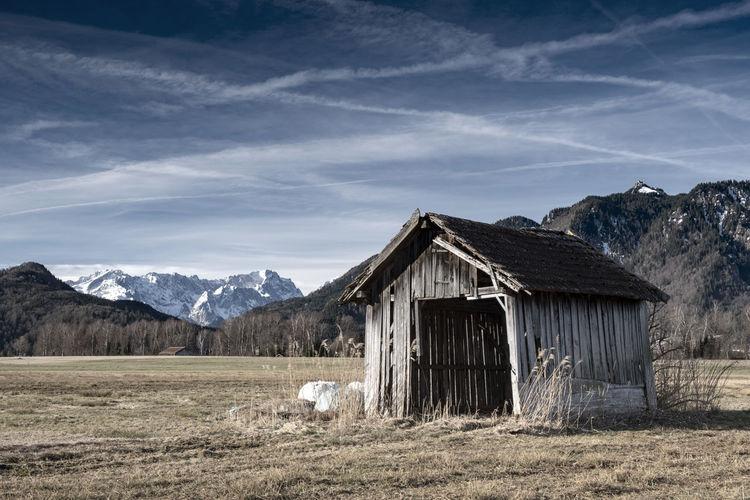 Alte Hütte im