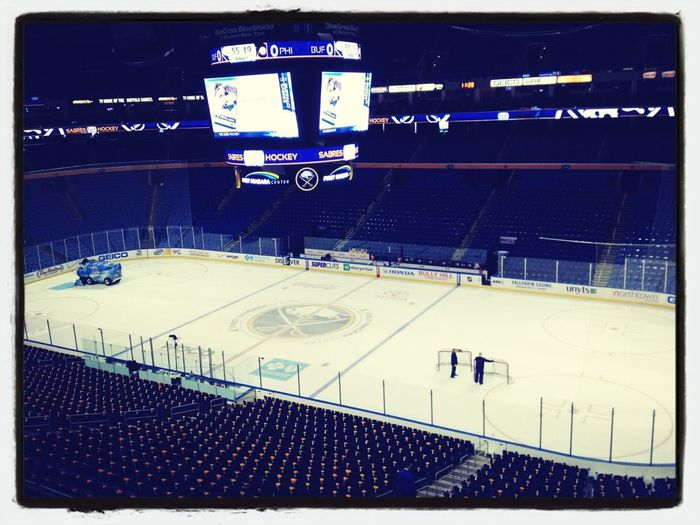 Looking forward to buffalo sabres game #2 of this short season vs. the Maple Leafs! Lets go Buffalo!