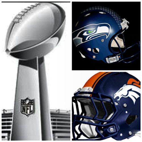 It's Set... Seattle Vs. Denver SuperBowlXLVIII ~ Should Be A Good One... WheresThePartyGonnaBeAt