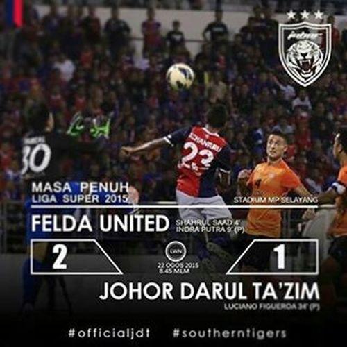 Jdt has won the Malaysiasuperleague2015 wow !!!!! Jdtvsfelda