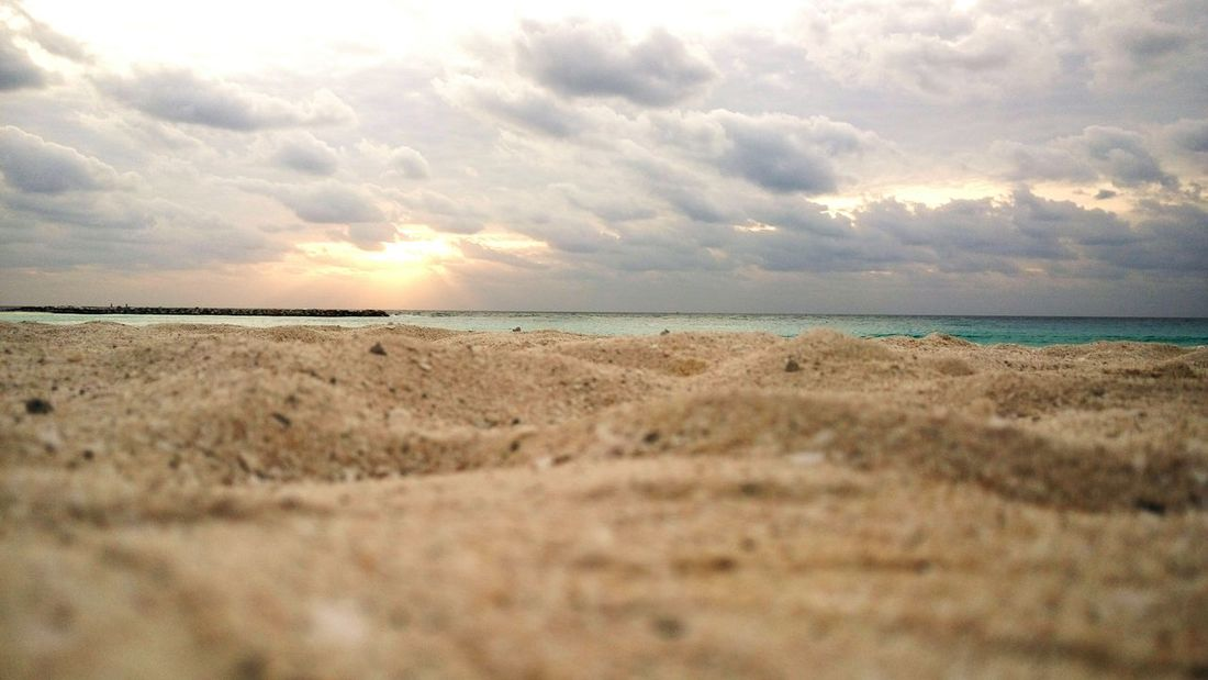 Cancun Cancunbeach Cancun Mexico Yucatán, México Sand & Sea Sunrise Water Ocean