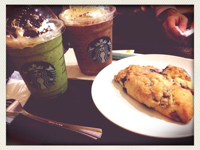 Shopping Yummy♡ Yummy Starbucks with MOM???