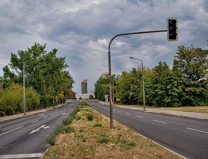 Street Plant Tree Road Sky Cloud - Sky Transportation Direction