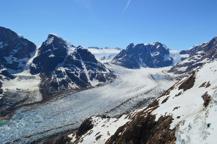 Exploration in South East Greenland. July 2013