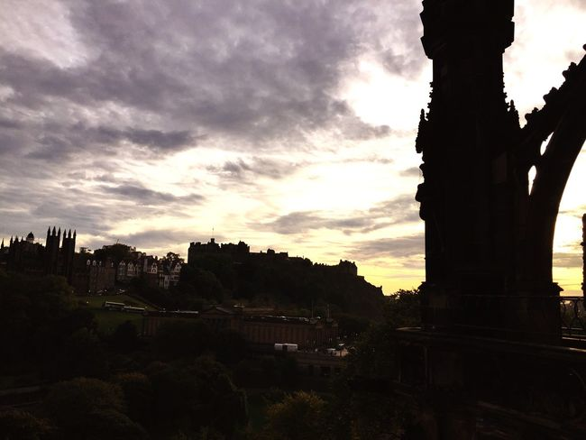 Edinburgh Castle Edinburgh Sunset Edinburgh My Favorite Photo The Great Outdoors With Adobe The Great Outdoors -2016 Eyeem Awards