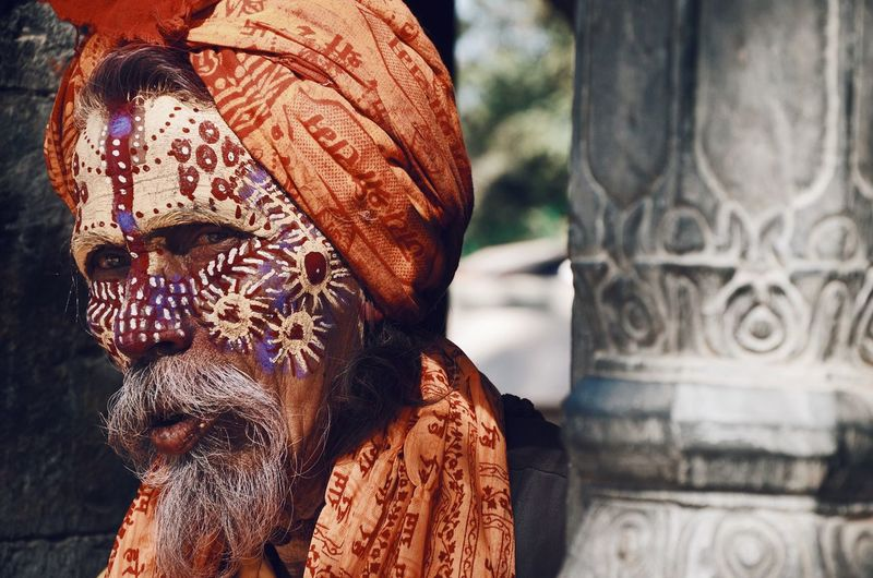 I sometimes think that peoples hearts are like deep wells. Nepal Monk  Travel Photography Traveling Travel Photooftheday Photography Photo Nikonphotographer Nikonphotography Nikon VSCO People Art And Craft Real People Focus On Foreground Close-up Creativity Pattern This Is Aging One Person Adult Outdoors Lifestyles