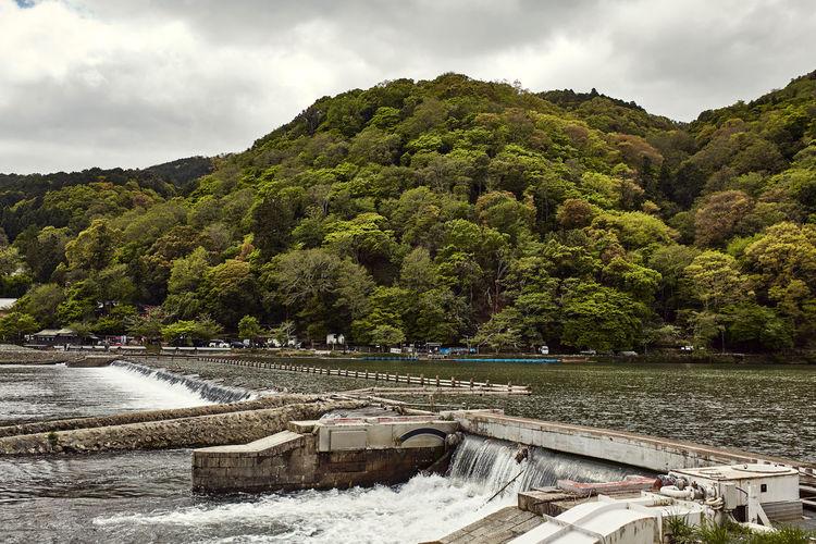 Hozu River Dam