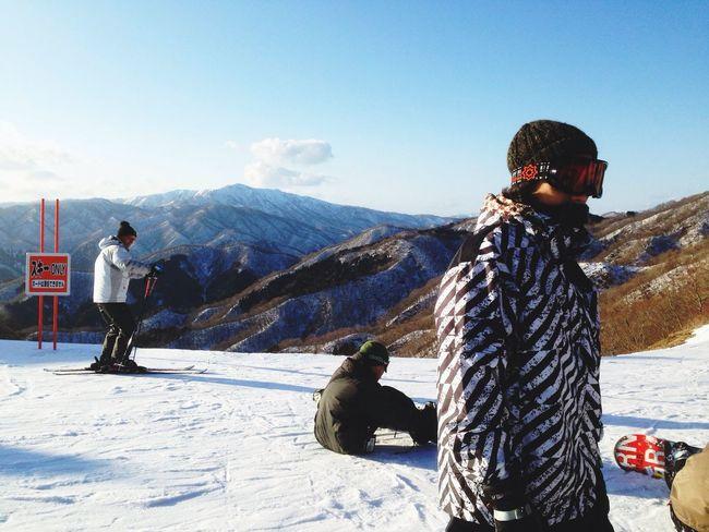 Snowboarding Short Trip Landscape
