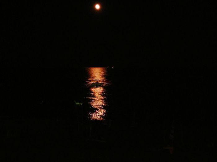Water Moon Sea