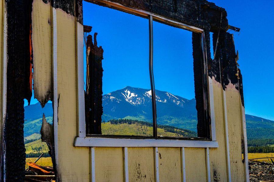 Windows Mountain Humphrey's Peak Flagstaff Az Picturesque Eyemnaturelover Snow Peak Arizona Fire Damage Burned House Burned