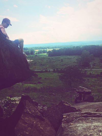 Gettysburg Nature Sky Tranquil Scene Tranquility Scenics Beauty In Nature Landscape Rock - Object Outdoors Day Cliff Travel Destinations DCTrip DC Dctrip2017 Funtimes Travel Adventure Fieldtrip