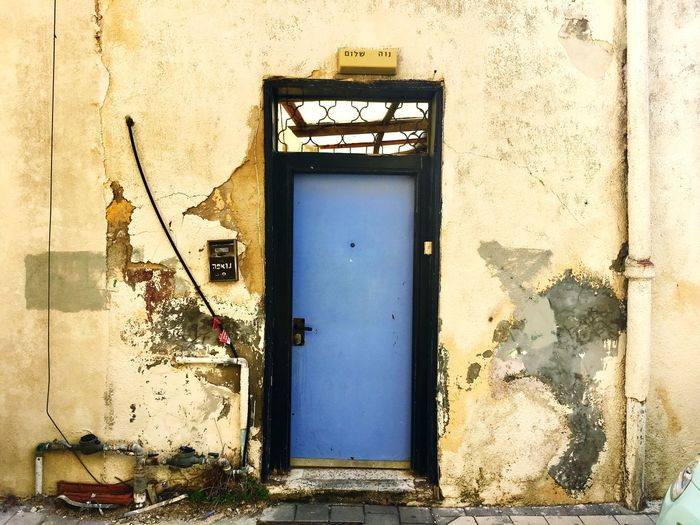 Architecture Building Exterior Building Entrance Closed Day Wall - Building Feature Safety Security Protection Old Weathered Outdoors Wall No People Nature Window Sunlight