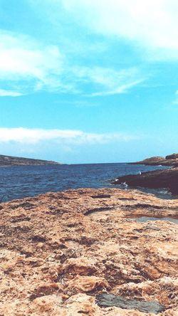 """Gentle Stone"" Good Morning Bestoftheday Luxury Dettails  Sunset Vibes Eye Em Select Life Sea Water Land Beach Sky Beauty In Nature Scenics - Nature Day Cloud - Sky Nature Horizon Sunlight Sand Horizon Over Water"