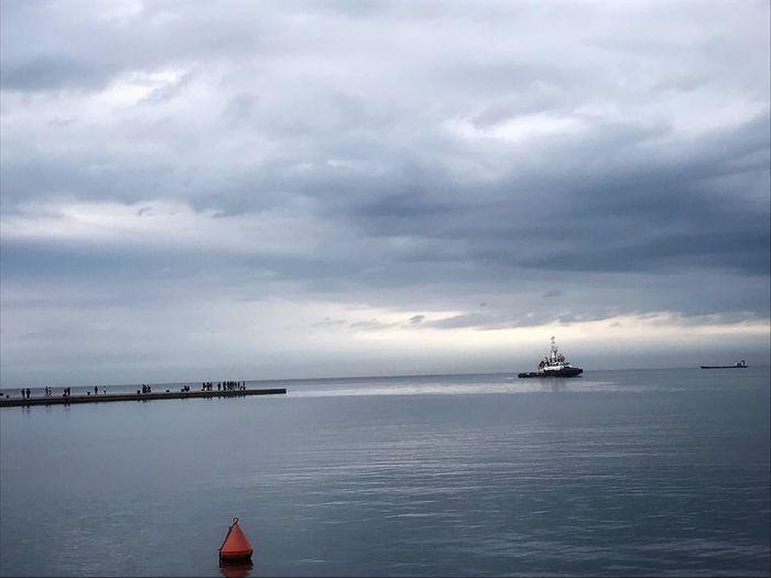 Triest Hafen