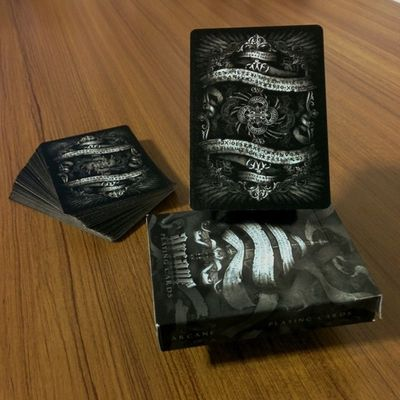 Peace of Art in these Cards Arcane Ellusionist Playingcards