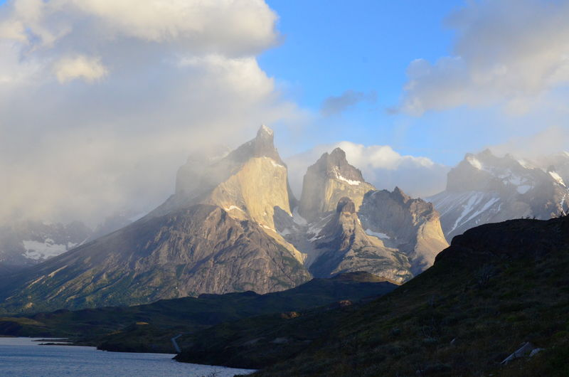 Torres del Paine National Park Torres Del Paine National Park Chile♥ Parque Nacional Torres Del Paine Magallanes Region Sky Cloud - Sky Beauty In Nature Scenics - Nature Mountain Nature No People