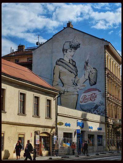 Urban Art Praga Pepsi Prague Street Photography
