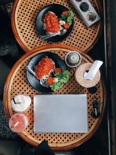 Food And Drink Food Freshness Wellbeing Indoors  Healthy Eating Table High Angle View No People Still Life Directly Above Close-up Kitchen Utensil Ready-to-eat Vegetable Serving Size Household Equipment Bowl Eating Utensil Asian Food Glass Tray Japanese Food