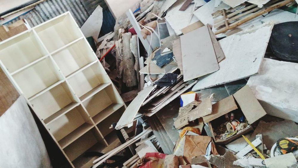 Mess Messy Life Trash Art Chaos