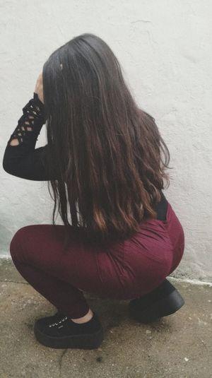 Women Full Length Young Women Long Hair Sitting Human Hand