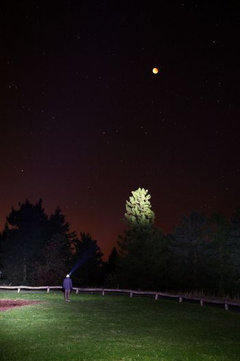 Kleine Lapp Einlage ;) - Mondfinsternis 2015 vom Feldberg aus fotografiert.