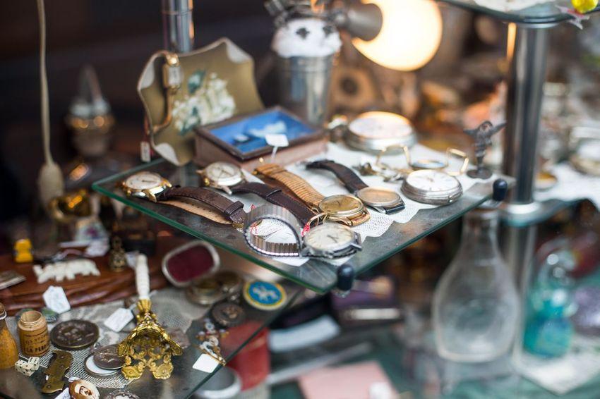 Abundance Arranged Arrangement Classic Flea Market Retail  Trinket Variation Variety Watch Watches