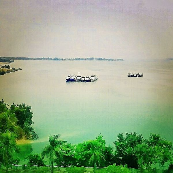 A view of the sea Batam Riauisland INDONESIA View travel journey