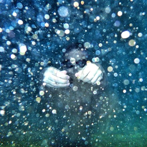 Under Water Summer Crete