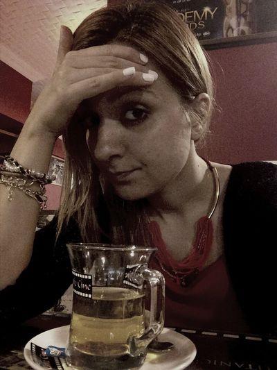12 saat dersten sonra baş ağrısııııı weee stresss? cafe cine'de bi ihlamur molası sonra yine dersssss