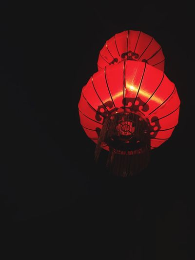 You don't have to put on the red light. Lamp Chinatown