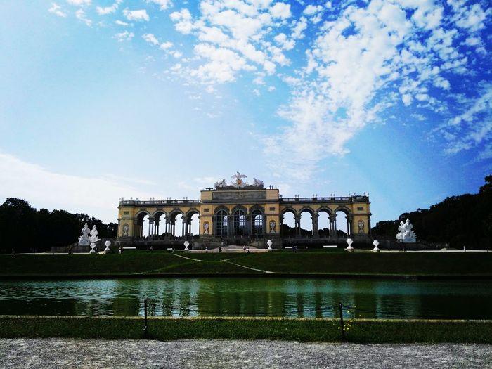 Enjoy ✌ Happiness ♡ Austria ❤ Friends ❤ Vienna <3 Sky Water Outdoors Hot Weather Summer Memories 🌄 Littleroadtrip 🗻⛺🚘🚗 Birthday Present Huawei📱