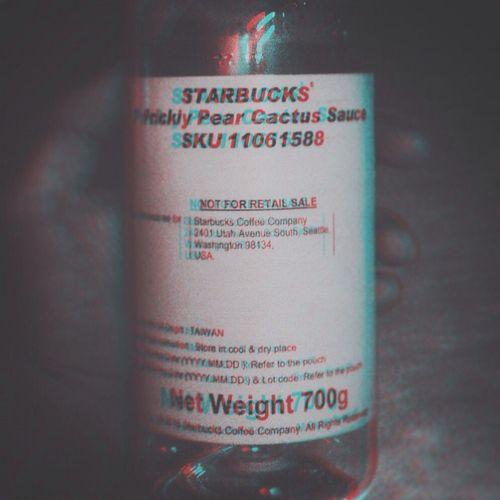 3D Effect Blackandwhite Square Bottle Starbucks