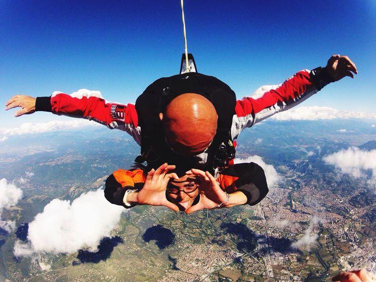Paracadutismo Amore Mio ❤ Felicità Adrenaline