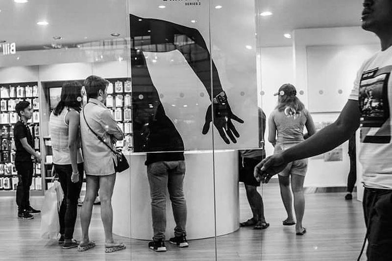 The Street Photographer - 2017 EyeEm Awards People Indoors  Human Hand Fujifilmx100s Let's Go. Together.