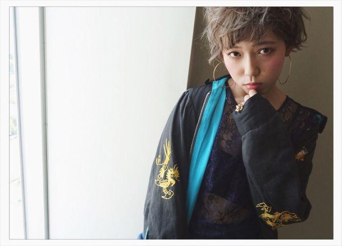Ema #e.m.a #international #インターナショナル #栄 #名古屋 #ヘアー #cute #love #アレンジ #サロンモデル #アッシュ #グレージュ #カラー #ミディアム #ボブ #ショート #前髪 #summer #cafe #メイク#ブルージュ#外国人風カラー #美容院 #学生 #キャンパス #hair #ash #violet #gray #color #トレンド First Eyeem Photo