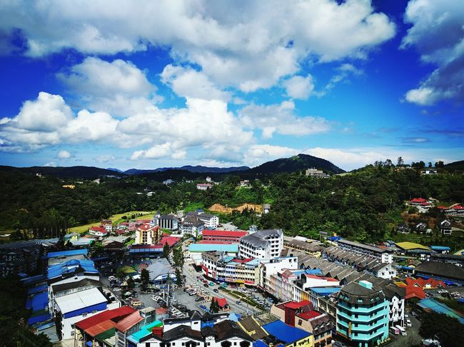8am in Cameron Highlands, Malaysia. I can only wake up in the morning while traveling. Cameronhighlands Morning Sky Travel Photography