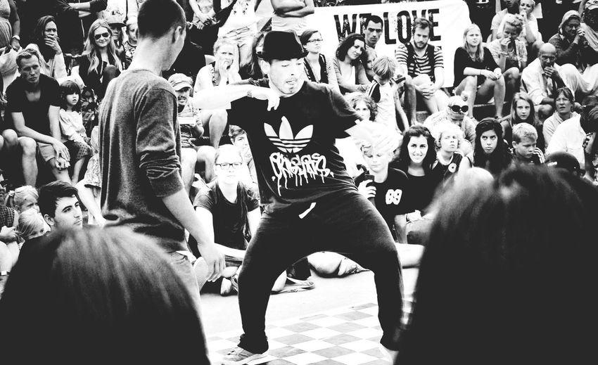 Dance Battle Scenery Shots Monochrome Copenhagen