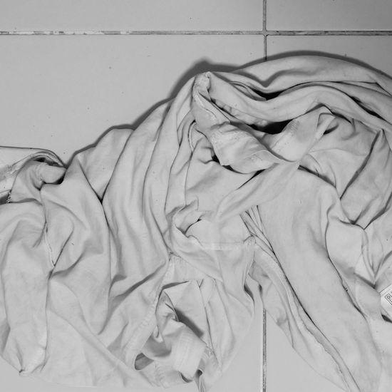 Full frame shot of white painting on wall