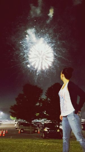 Fireworks to soothe a bursting soul.